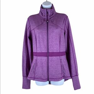 Rare Lululemon Peplum Ruffle Riding Jacket 8